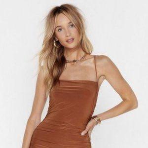 Ruche Maxi Dress